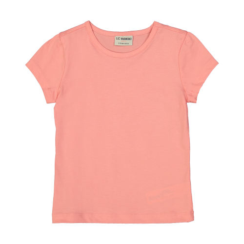 تی شرت دخترانه ال سی وایکیکی مدل 9SG627P4-FMU