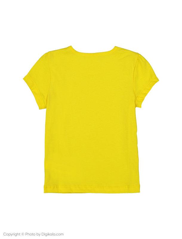 تی شرت دخترانه ال سی وایکیکی مدل 9SG627R4-FVT