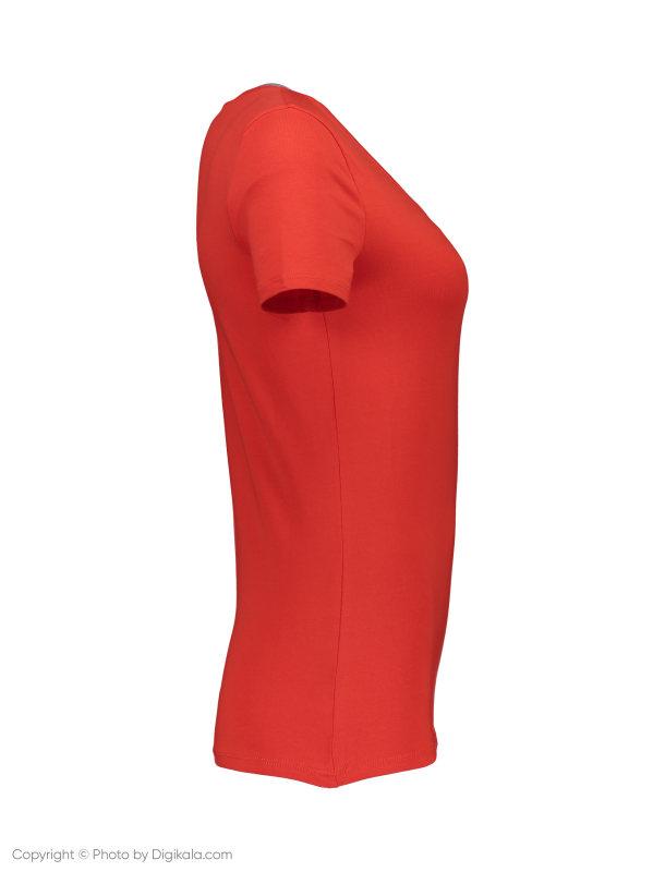تی شرت زنانه ال سی وایکیکی مدل 9SK760Z8-GYE