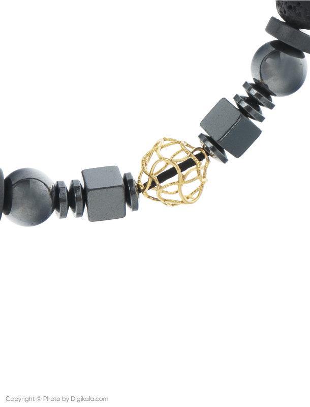 دستبند طلا 18 عیار مردانه گرامی گالری مدل M051