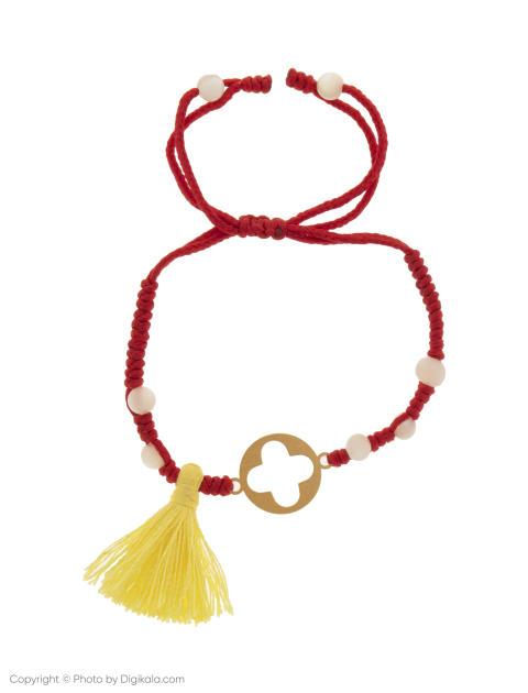 دستبند طلا 18 عیار دخترانه گرامی گالری مدل B610 -  - 1