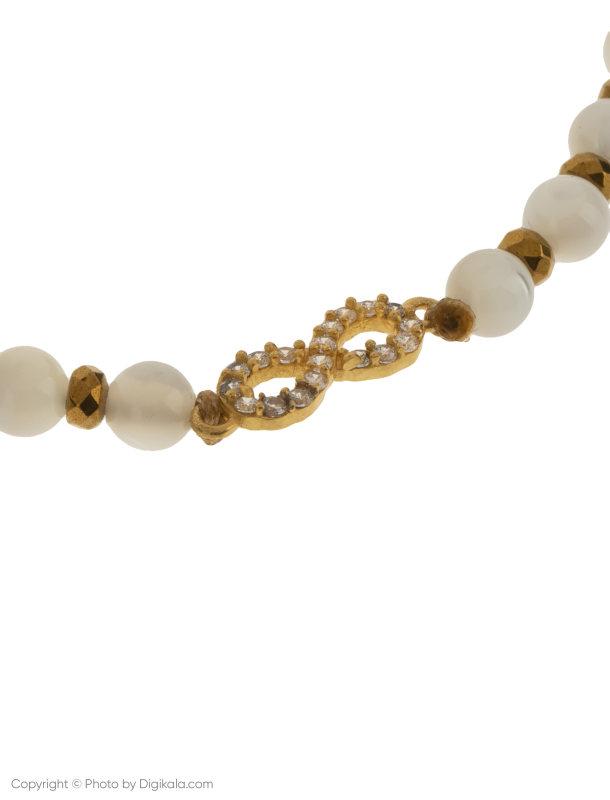 دستبند طلا 18 عیار زنانه گرامی گالری مدل B618