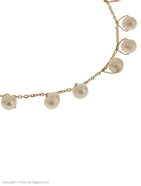 دستبند طلا 18 عیار دخترانه گرامی گالری مدل B605 -  - 2