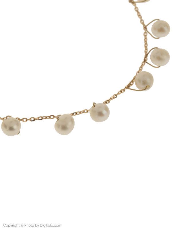 دستبند طلا 18 عیار دخترانه گرامی گالری مدل B605