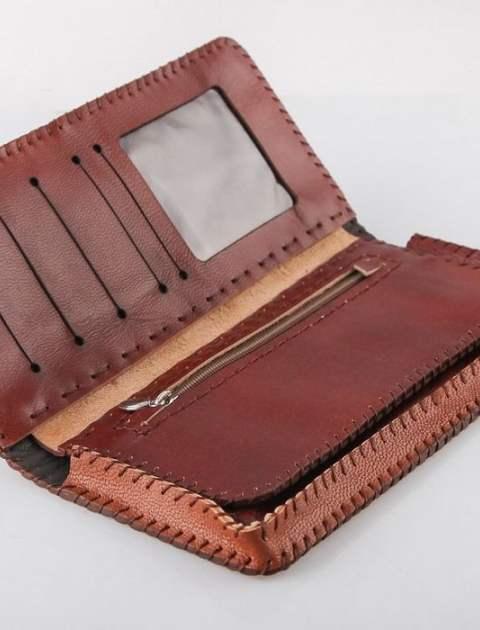 کیف پول چرم طبیعی گالری راد مدل کتی -  - 8