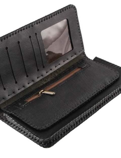 کیف پول چرم طبیعی گالری راد مدل کتی -  - 12