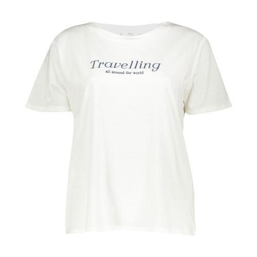 تی شرت یقه گرد زنانه - مانگو