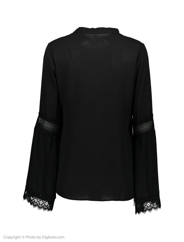 بلوز یقه کراواتی زنانه - امپریال