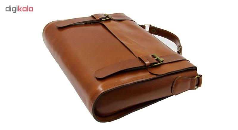 کیف اداری مردانه چرم لانکا مدل SBL-15
