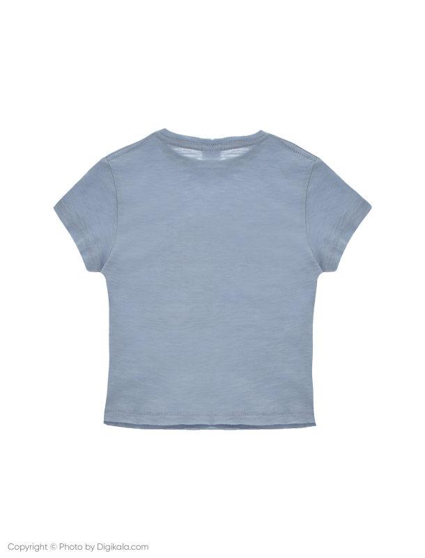 تی شرت نخی ساده نوزادی پسرانه - بلوکیدز