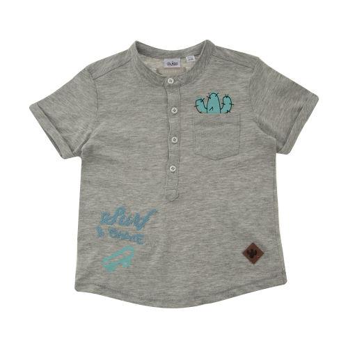 تی شرت نخی طرح دار نوزادی پسرانه - بلوکیدز
