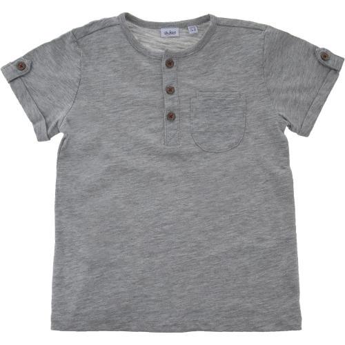 تی شرت نخی یقه گرد نوزادی پسرانه - بلوکیدز
