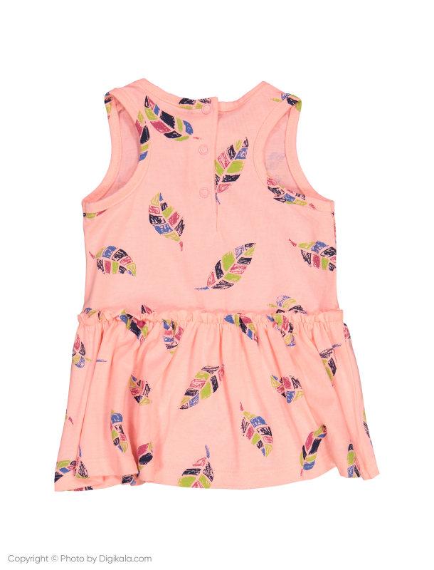 پیراهن آستین حلقه ای نوزادی دخترانه - بلوکیدز