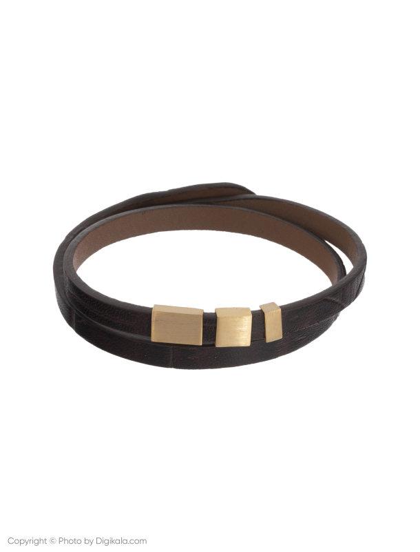 دستبند طلا 18 عیار مردانه تاج درسا مدل 6960