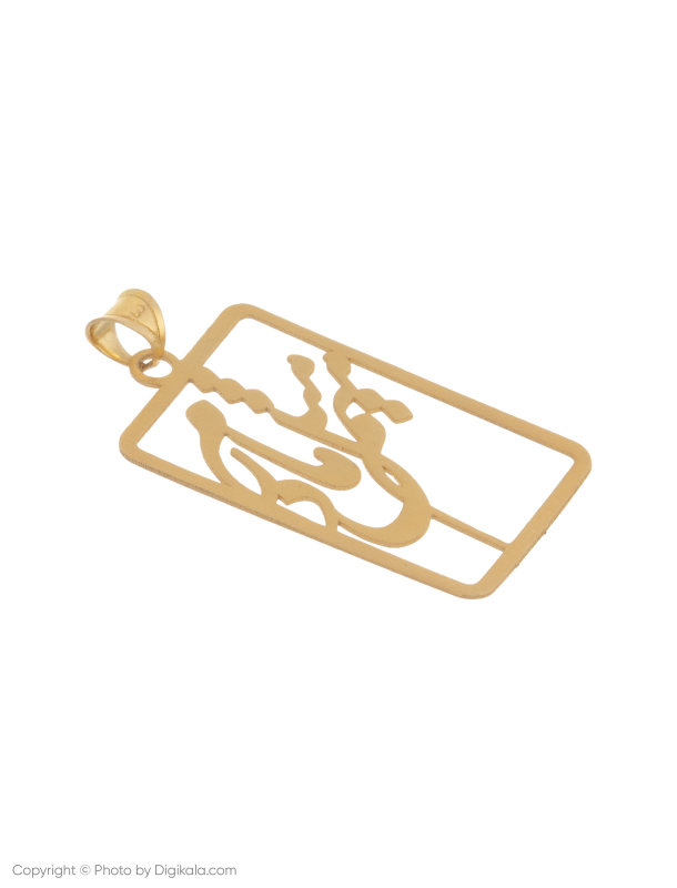 آویز گردنبند طلا 18 عیار زنانه میو استار مدل N142