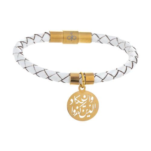 دستبند طلا 18 عیار دخترانه میو استار مدل BW102