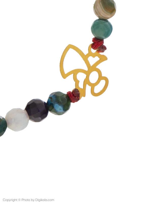 دستبند طلا 18 عیار زنانه میو استار مدل BS46
