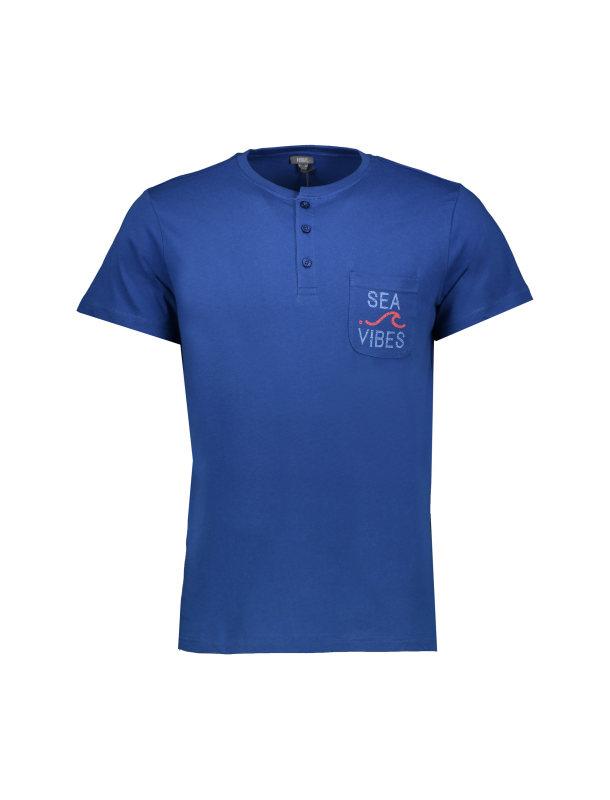 تی شرت و شلوارک راحتی مردانه یوپیم مدل 5143737
