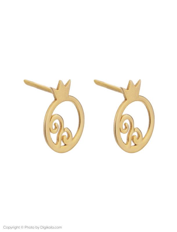 گوشواره طلا 18 عیار زنانه میو استار مدل EG14